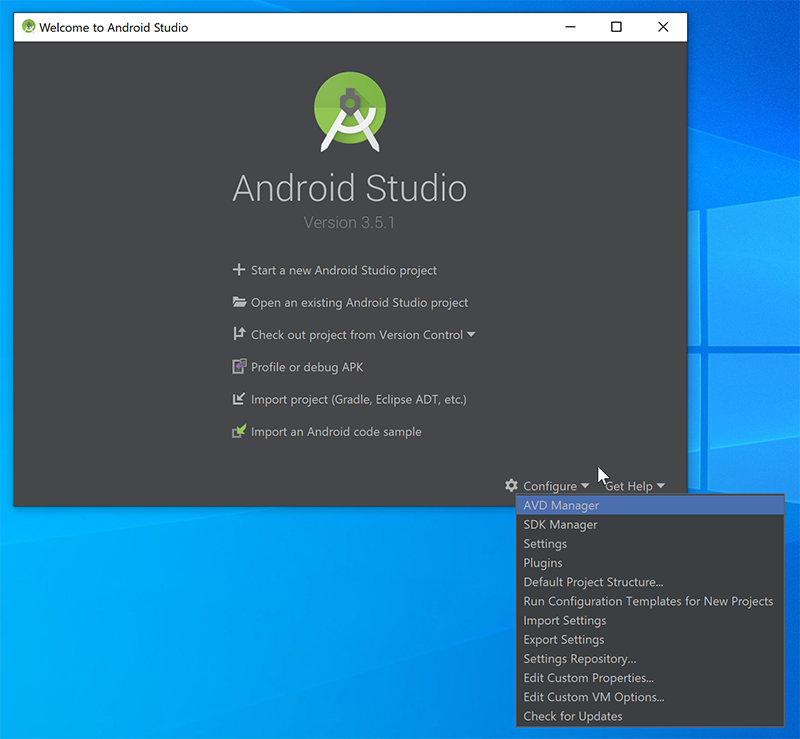 Android Studio Config
