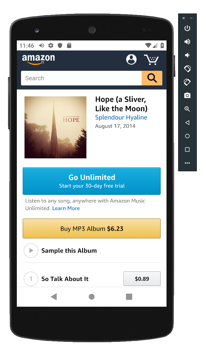Buy some music from Amazon! And test it to make sure it works
